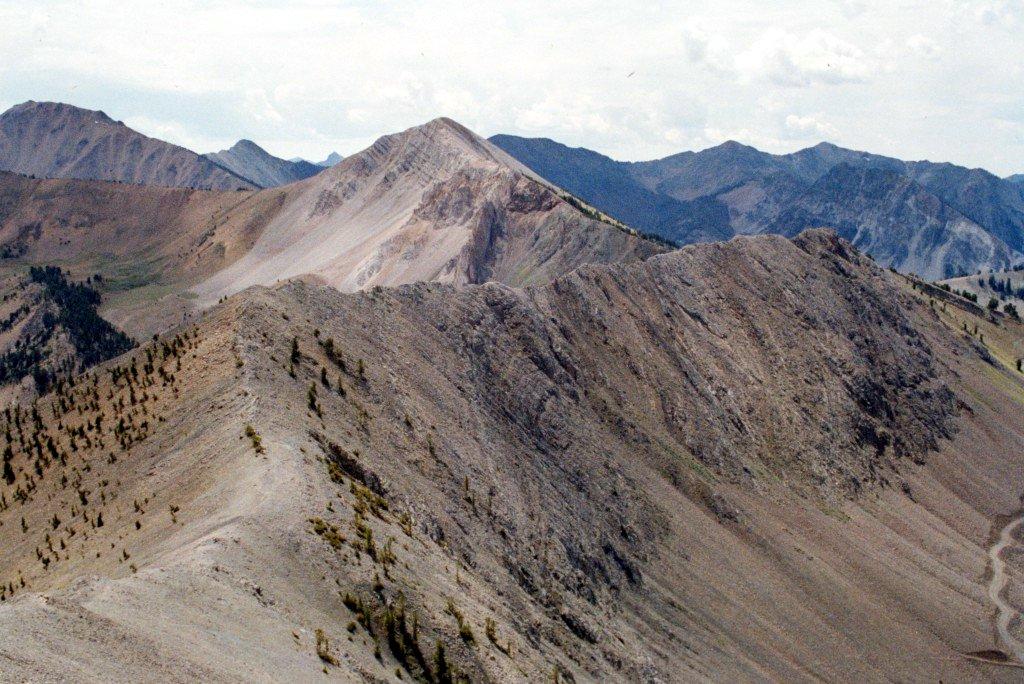 Blackmon Peak from Peak 10111.