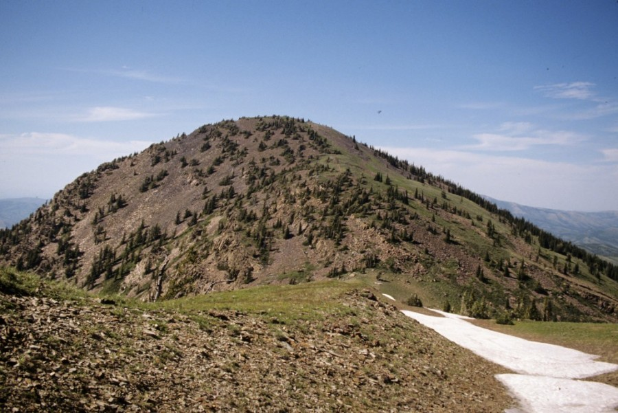 Bonneville Peak from Snow Peak.