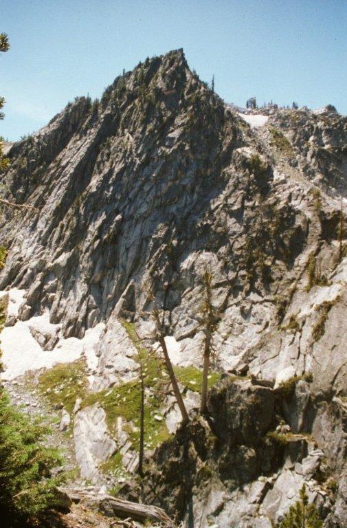 Bruin Peak viewed from Bruin Mountain.
