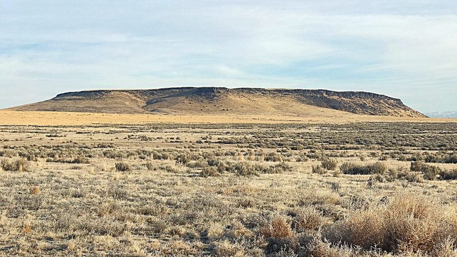 Sinker Butte viewed from the southeast.