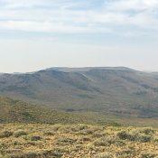 Boyer Gulch Peak viewed from Middleman Peak.