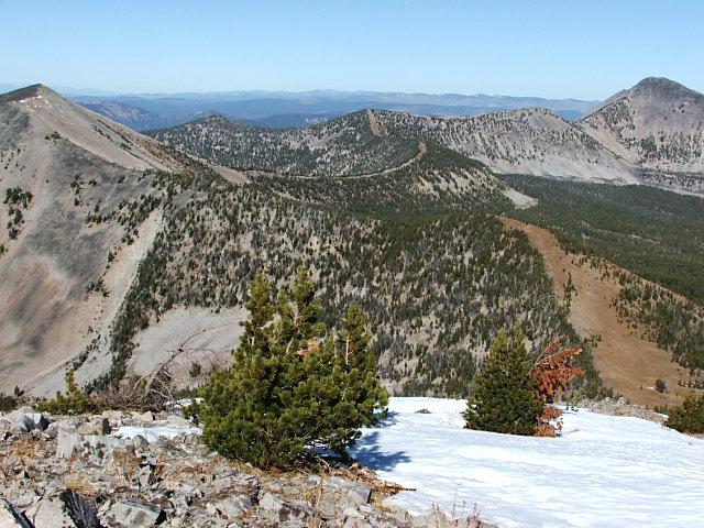 Pyramid Peak to Sheep Mountain. Michael Darcy Photo