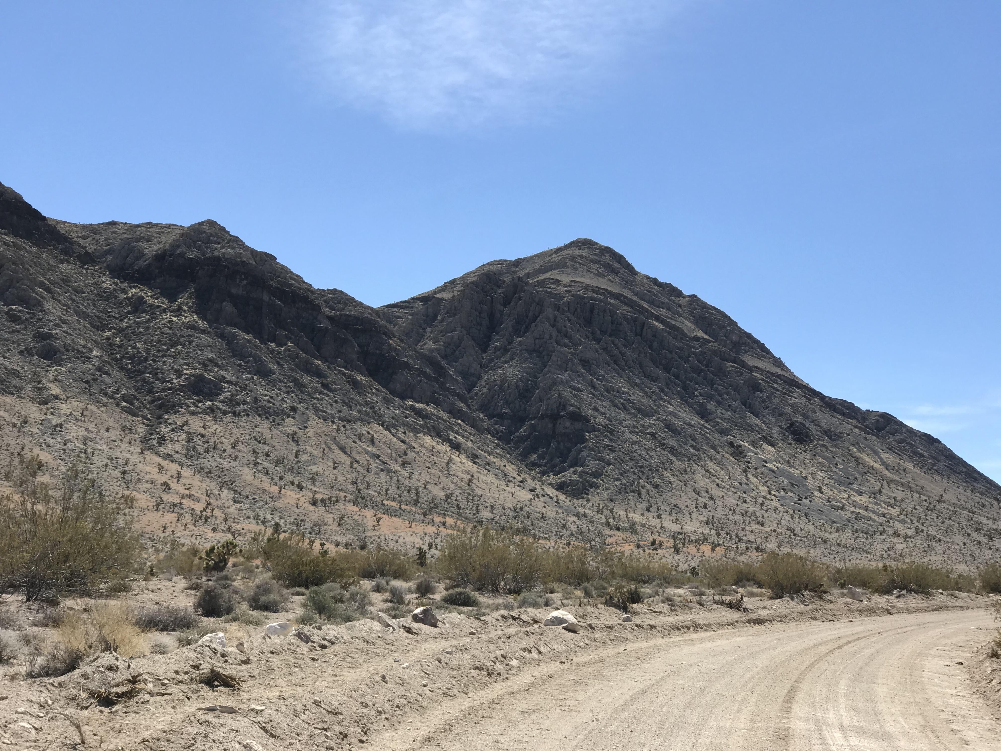 Peak 5218's north face.