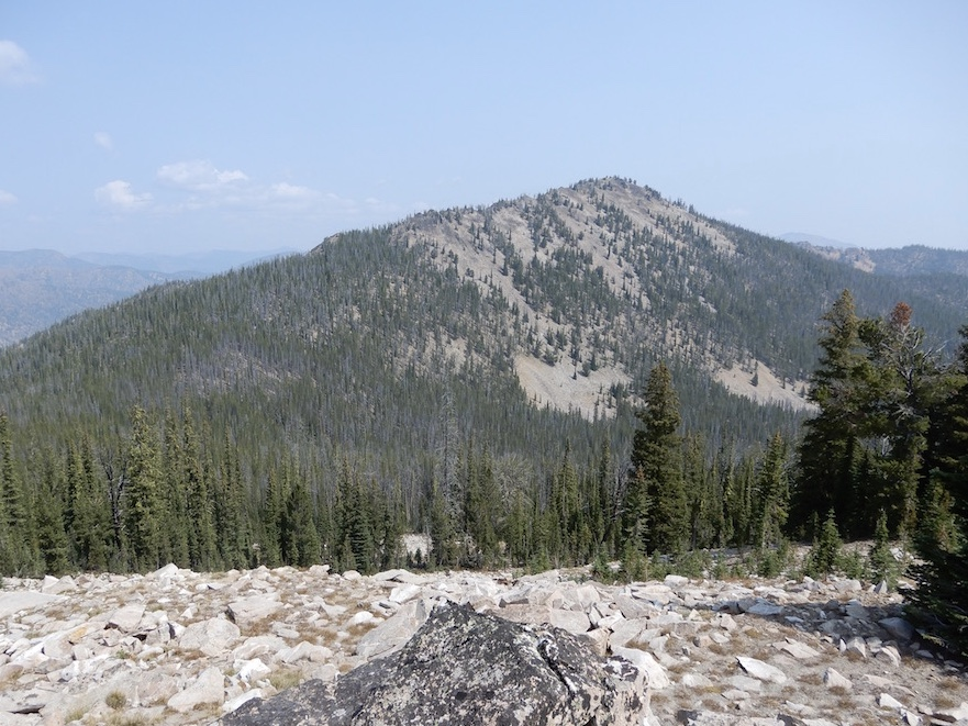 Chinook Mountain ciewed from Peak 8722. John Platt Photo