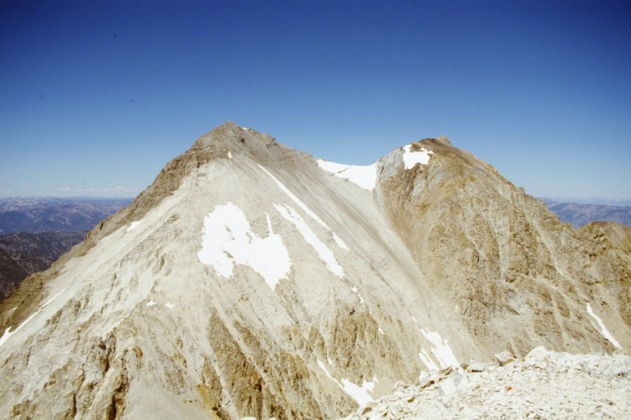 The south side of Caulkens Peak.