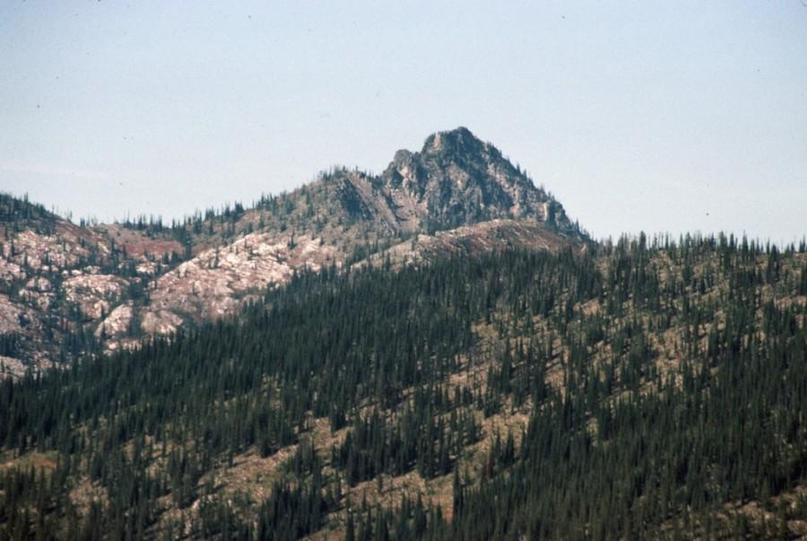 Chimey Peak, Selway Crags.