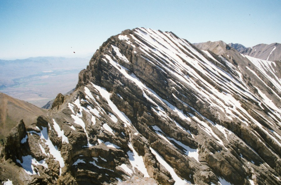 Mount Church from Bad Rock Peak.