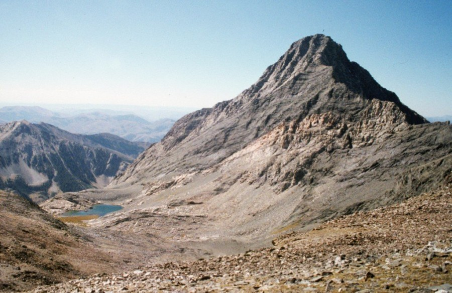 Cobb Peak from Old Hyndman Peak.