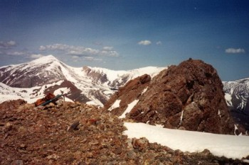 Cobble Mountain summit photo by Rick Bauger.