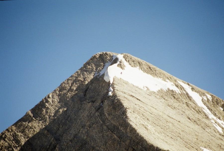 D.O. Lee's upper north ridge.