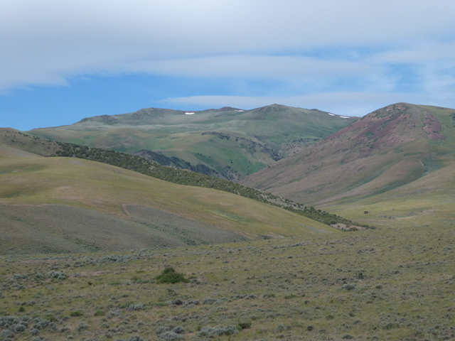 Elba Peak viewed from the east.