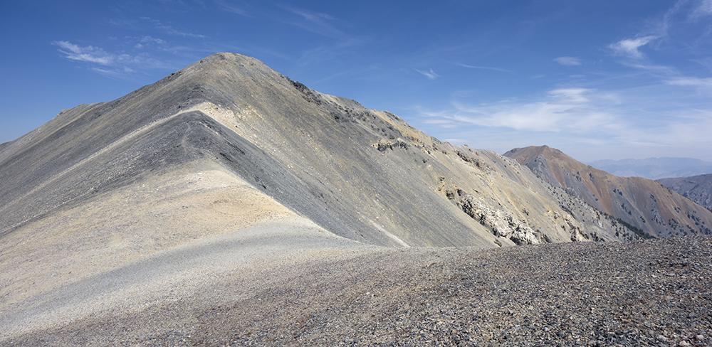 Peak 10751 (Midway Mountain). Larry Prescott Photo