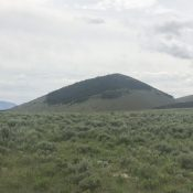 Fawn Peak viewed from the north.