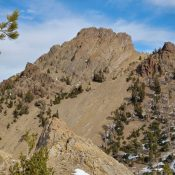 Ursa Peak from Trail Creek. Brett Sergenian Photo