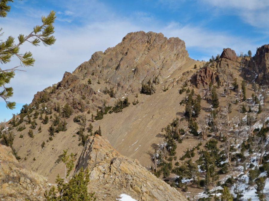 Ursa Peak from Trail Creek. Brett Sergenian Photo