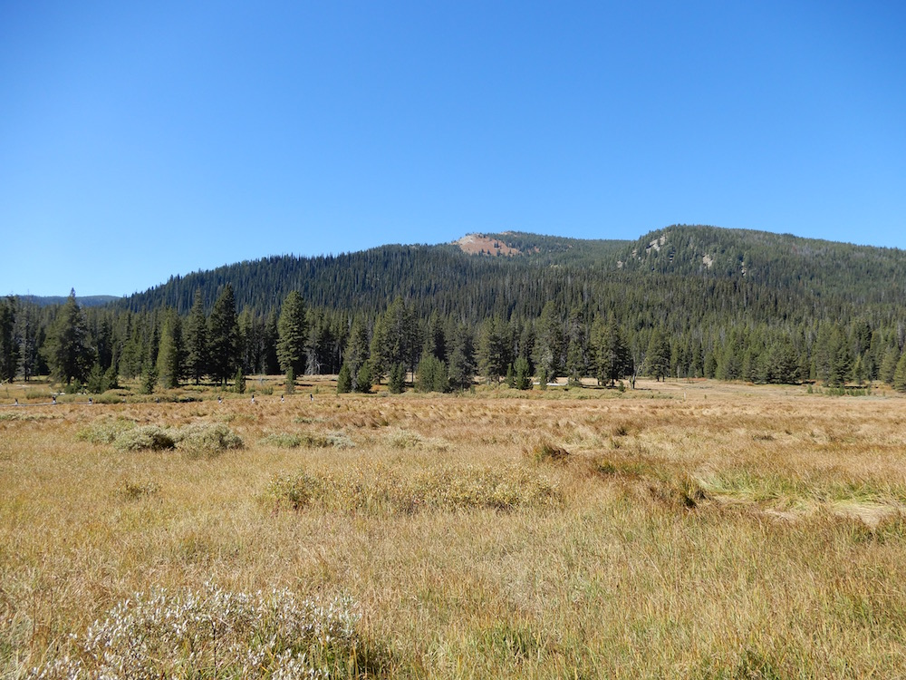 Pete Creek Peak viewed from the southeast. John Platt Photo
