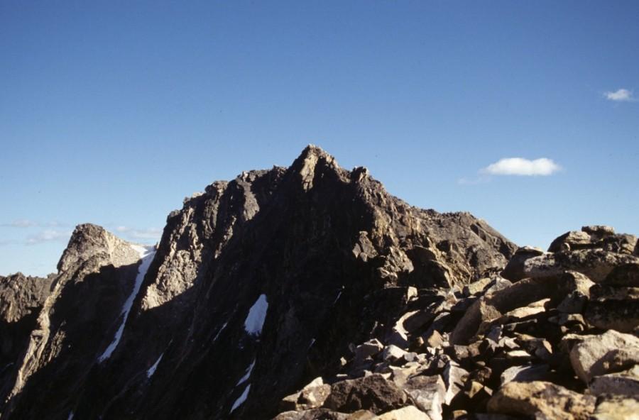 Decker Peak from its north ridge.