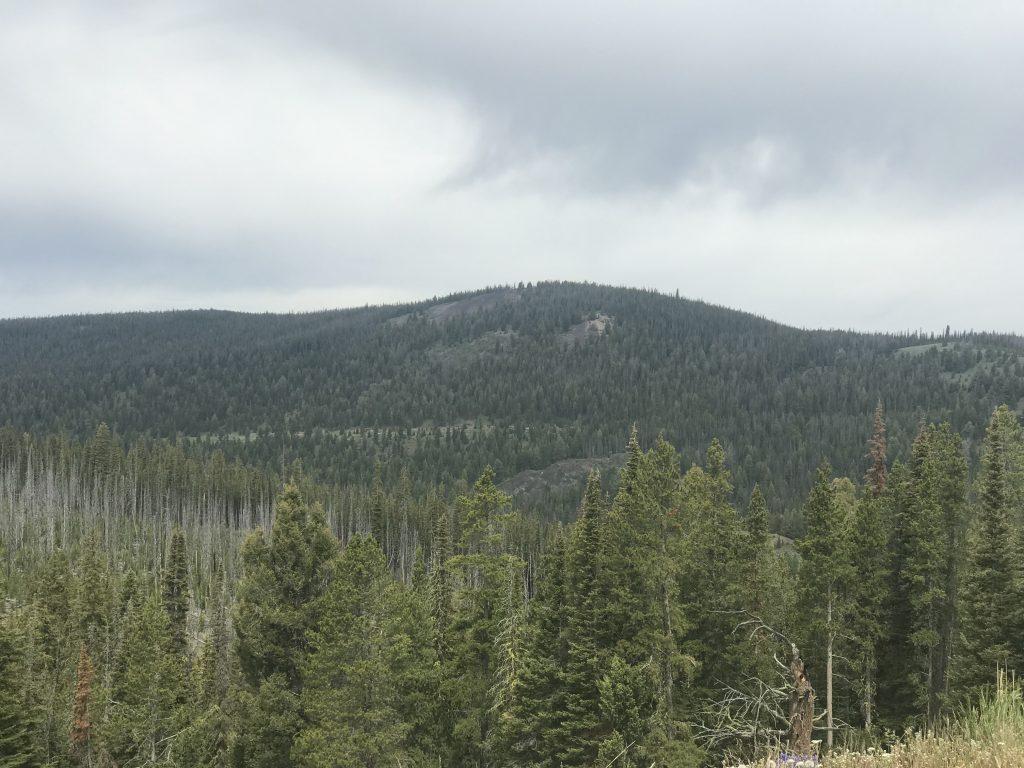 Deep Creek Ridge viewed from Lake Mountain.