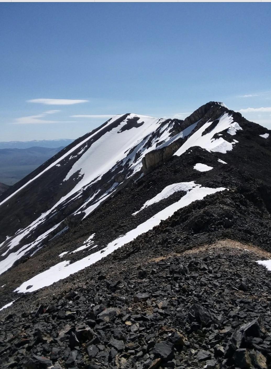 Al West Peak. Brett Sergenian Photo