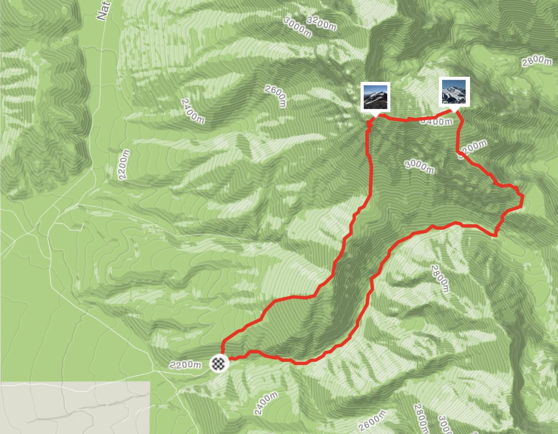 Brett Sergenian's GPS track.