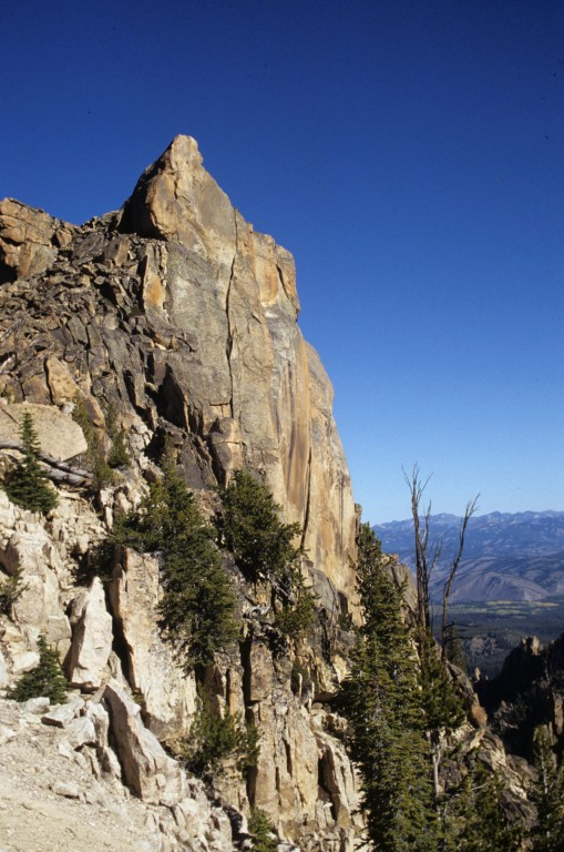 The east summit of the Elephants Perch.
