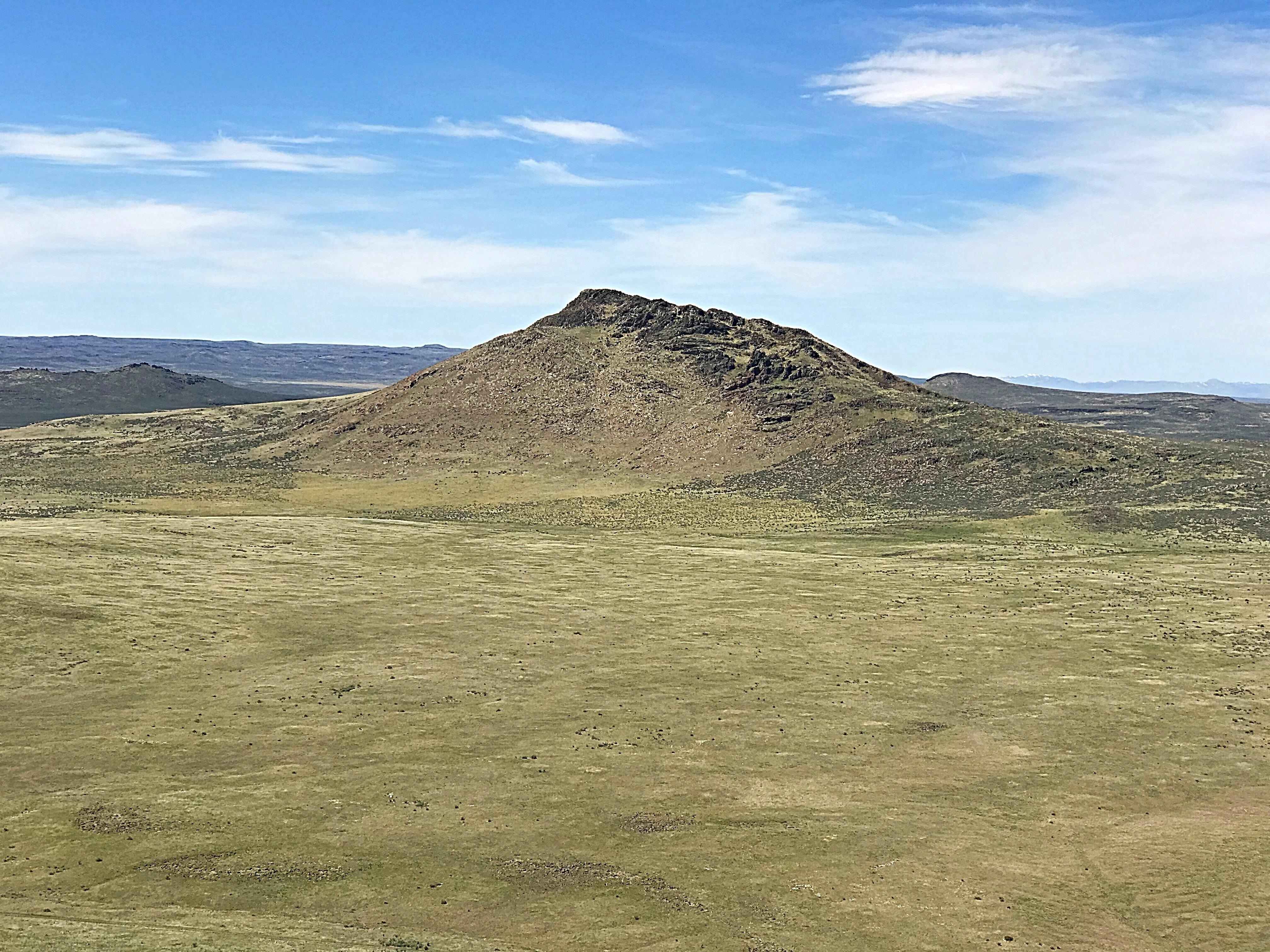 Wedge Butte from Peak 5273.
