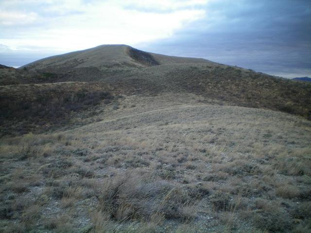 Peak 6795 as viewed from high on the south ridge. Livingston Douglas Photo