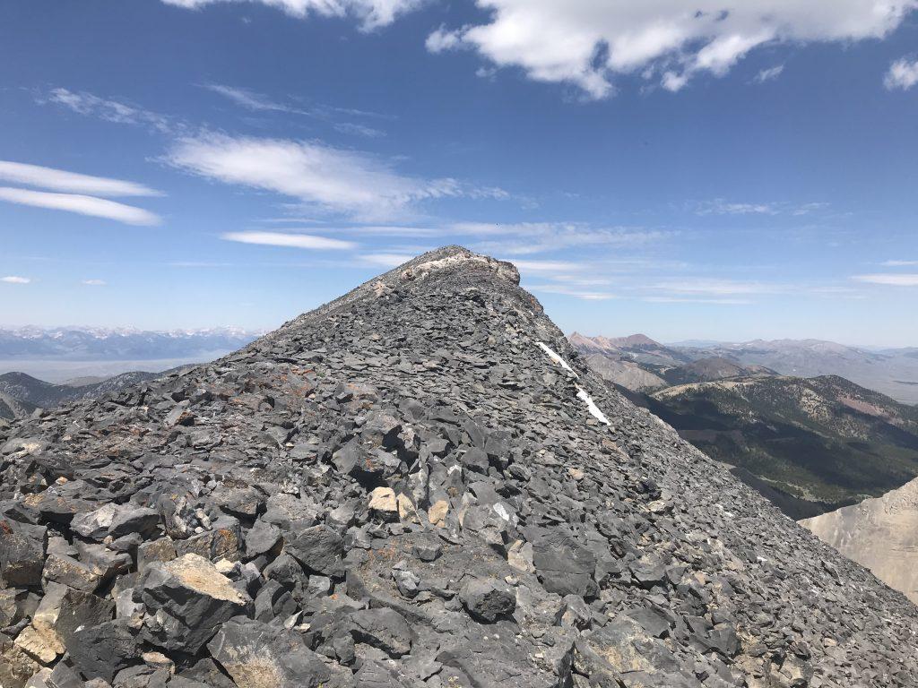 The summit.