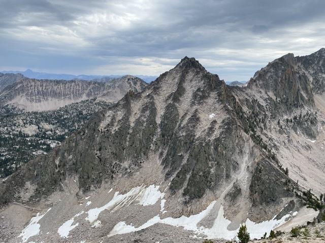 The east face of Peak 10205. Derek Percoski Photo
