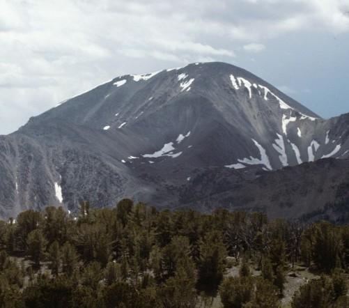 Big Creek Peak from Yellow Pass.