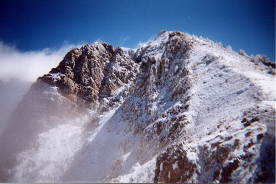 Gilmore Peak's North Ridge.