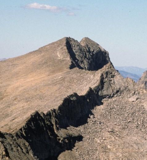 Goat Mountain from Hyndman Peak.