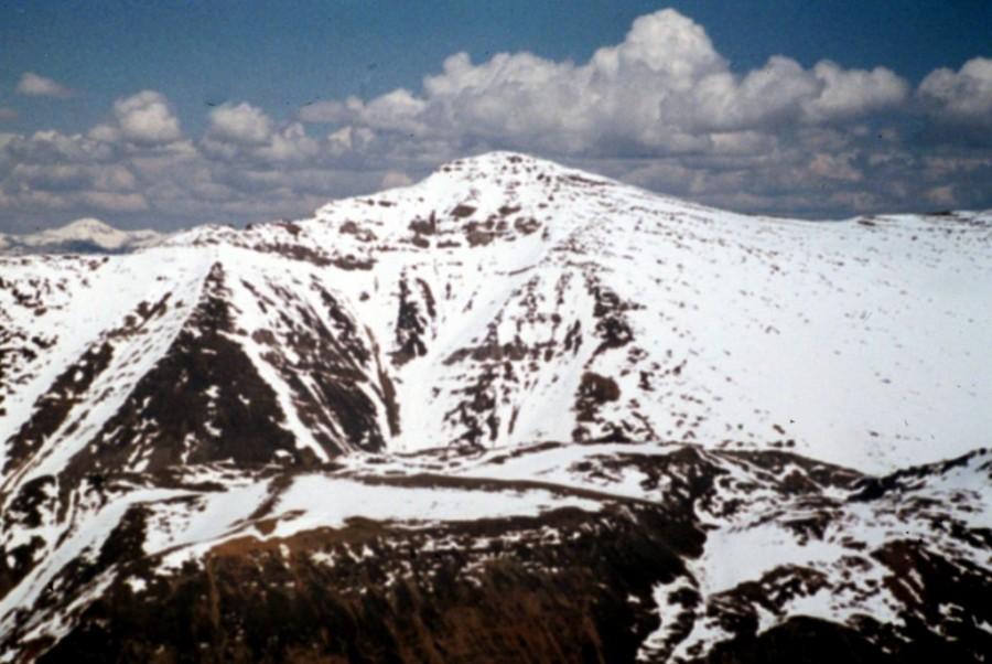 Grouse Creek Peak viewed from Mount McGowan.