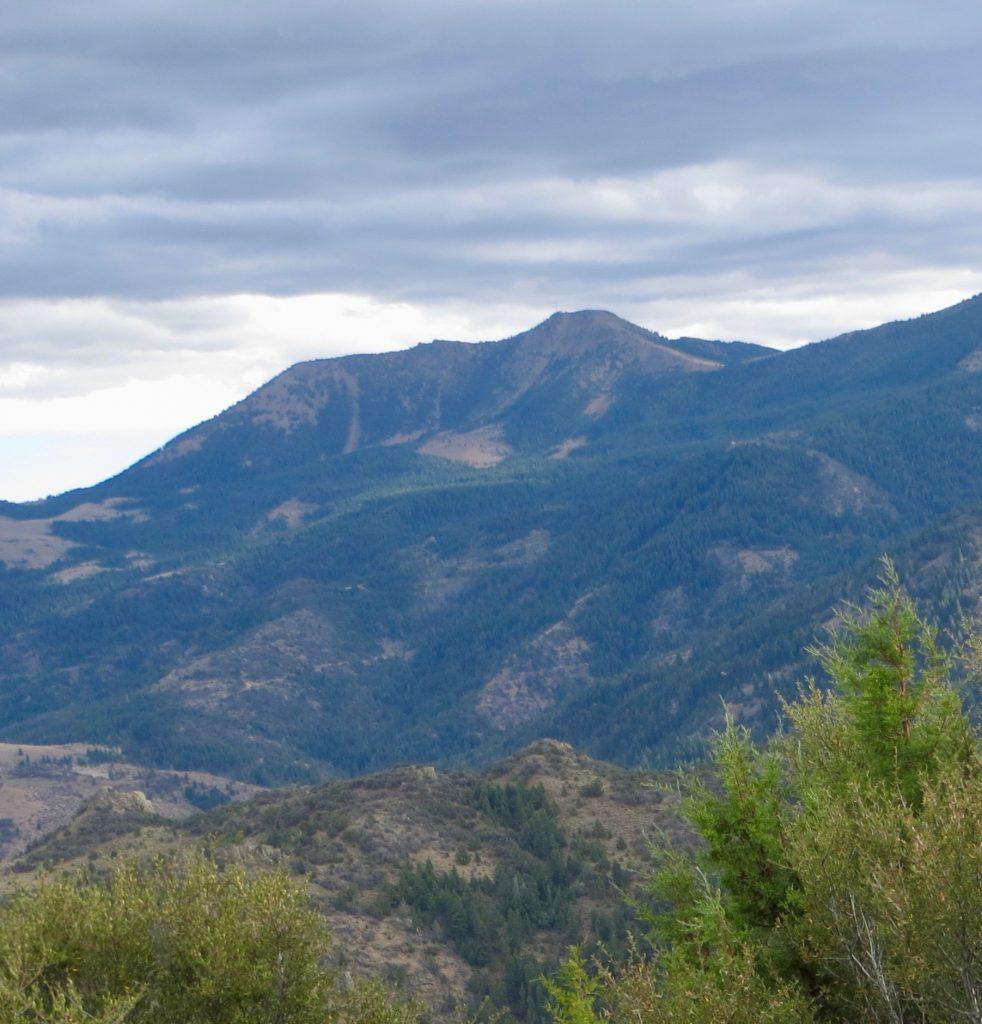 Hayden Peak from the west. Steve Mandella photo.