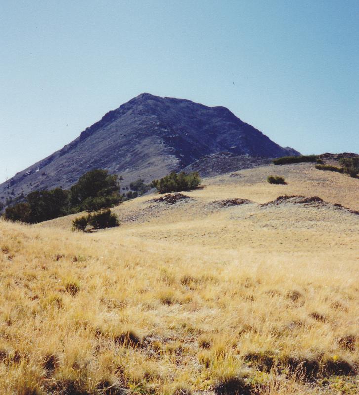 Griswold Peak, 9/4/94 Rick Baugher Photo