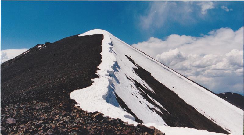 The east ridge of Cabin Mountain.