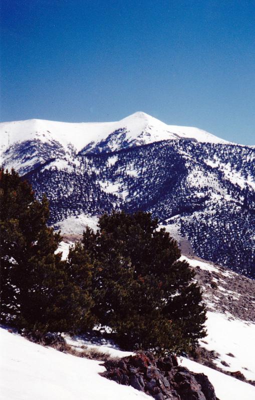 Copper Mountain viewed from Peak 7830 (Skull Peak). Rick Baugher Photo
