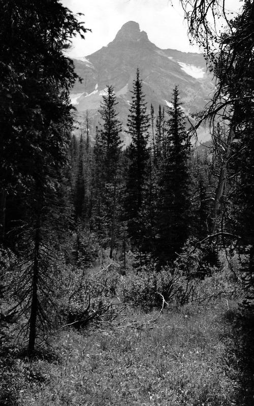 Old Hyndman viewed from upper Wildhorse Creek. Evilio Echevarria Photo