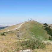 Summit of Ryan Peak. Steve Mandella Photo