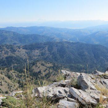 Summit Marker, Stouts Mountain. Photo - Steve Mandella