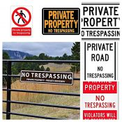 No Trespassing Generic