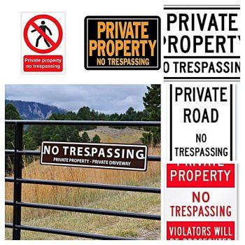 No Trespassing Generic