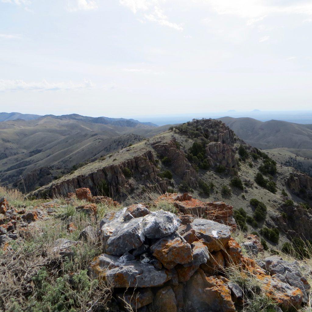 Summit of Peak 7333. Steve Mandella photo.