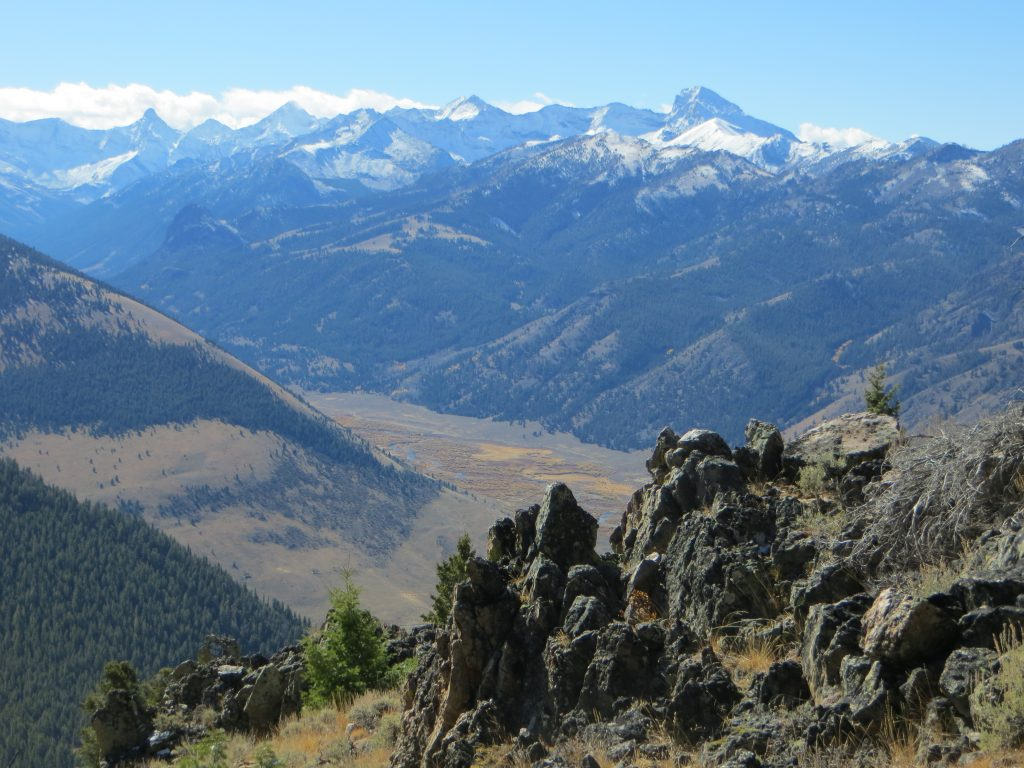 Beautiful views from the ascent of Wildhorse Peak - Steve Mandella photo.