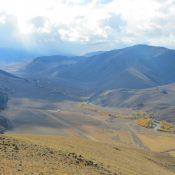Peak 8700 and the Big Lost River Valley. Steve Mandella photo.