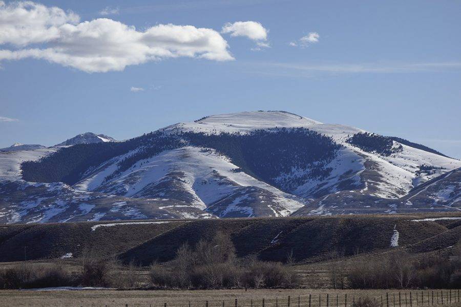 Bald Mountain from,the highway. Larry Prescott Photo