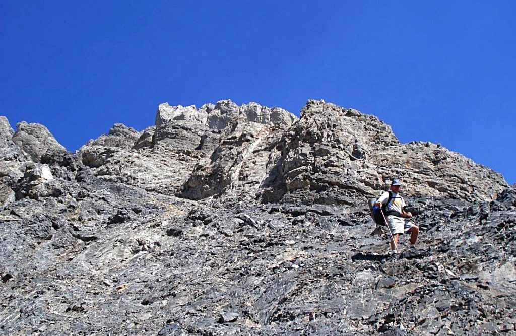 Descending Leatherman.