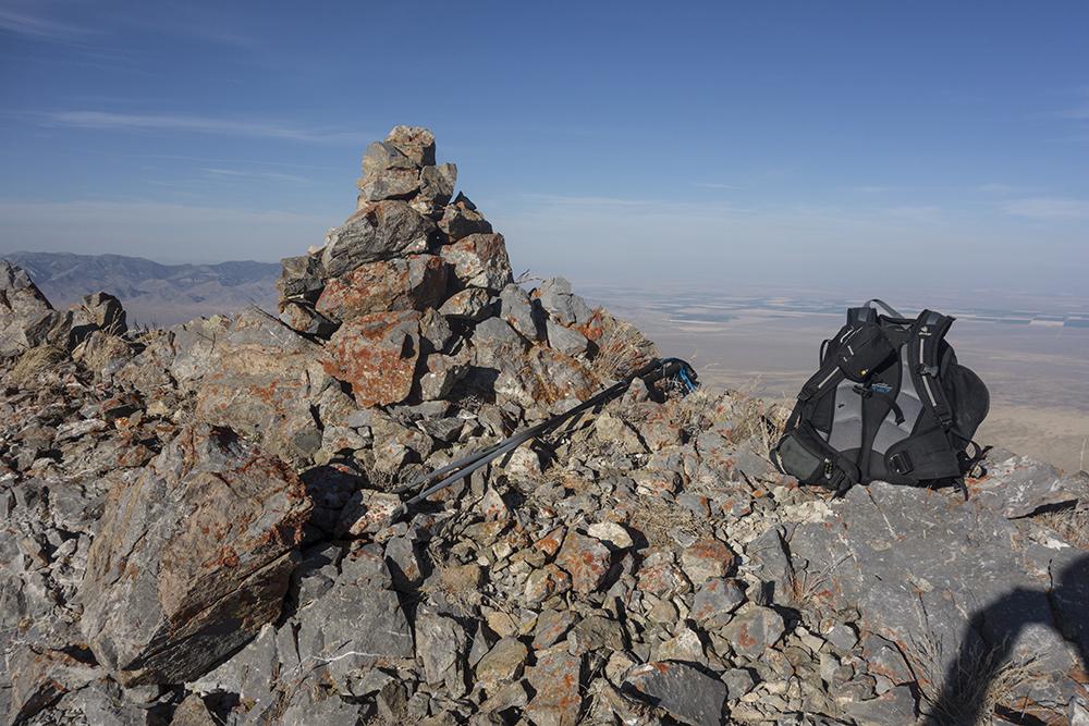 The summit. Larry Prescott Photo