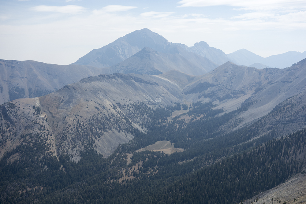 Looking south toward Diamond Peak. Larry Prescott photo.