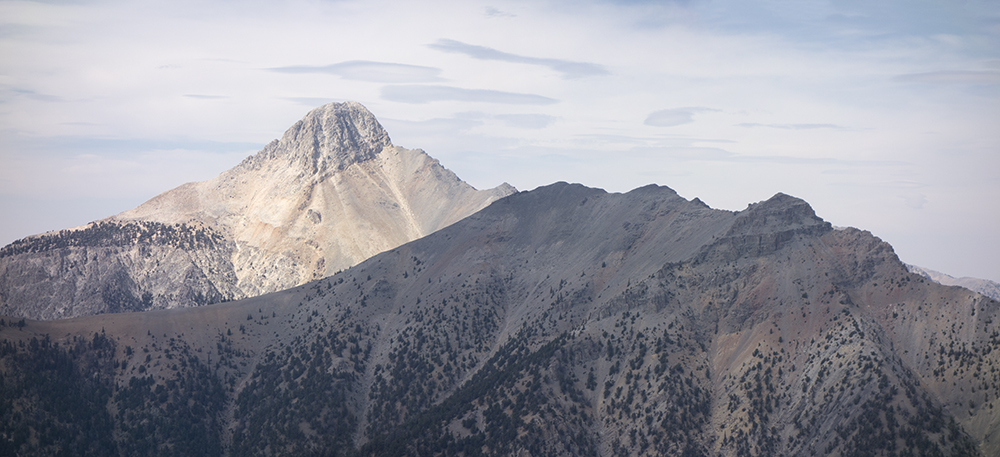 Bell Mountain and the Clapper. Larry Prescott photo.